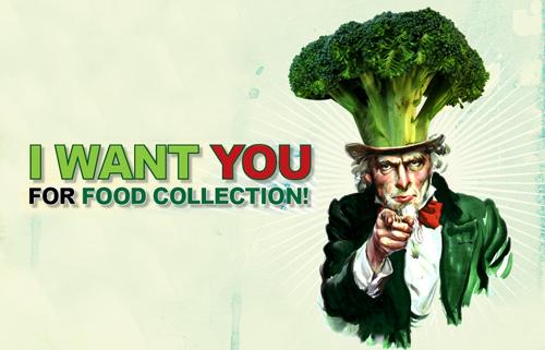 你願意在社區組織剩食回收團隊嗎?